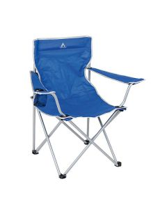 Camp-Gear Stoel Opvouwbaar Compact Blauw