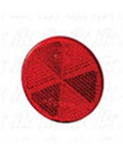 Hella reflector zelfklevend rood ø60mm (1 stuk)