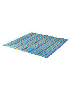 Bo-Camp Strandmat Blauw 180 x 180cm