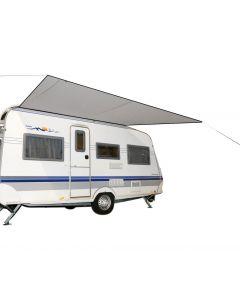Bo-Camp Caravanluifel Travel S 2,2x2,4 Meter Grijs