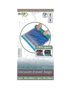 Bo-Camp Vacuumzakken Travelbags 2x M - 1x L
