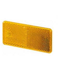 Hella reflector zelfklevend oranje 94x44mm (1 stuk)