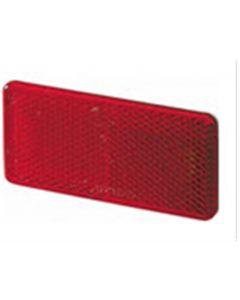 Hella reflector zelfklevend rood 94x44mm (1 stuk)