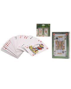 Speelkaarten geplastificeerd 2/pak