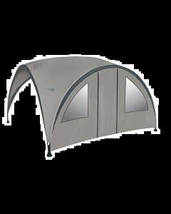 Bo-Camp Zijwand voor party shelter Small Met deur en ramen