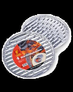 Boomex BBQ - Aluminium Grillschaal per 4