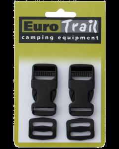 Eurotrail Snelsluiting 2 stuks 20mm