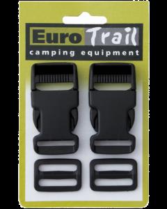 Eurotrail Snelsluiting 2 stuks 25mm
