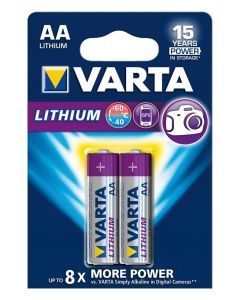 Varta Lithium Proff. 1,5V AA ZB/2**