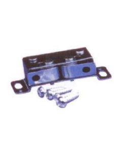 Metalen rol-snapper met nylon rollers met tegenplaat