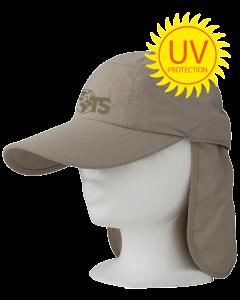 TravelSafe Desert Cap, met UV-bescherming
