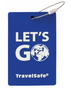 TravelSafe Bagage Label Blauw