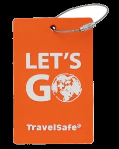 TravelSafe Bagage Label Oranje