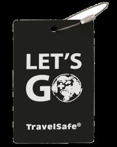 TravelSafe Bagage Label Zwart