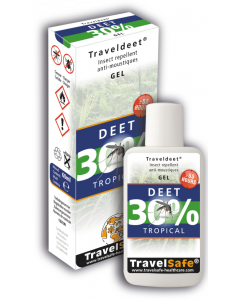 TravelSafe TravelDEET 30% (gel)