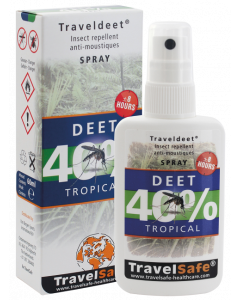 TravelSafe TravelDEET 40% (spray)